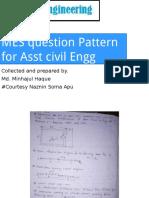 MES Question Pattern Civil