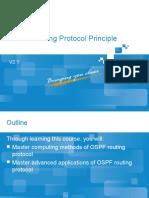 Protocol Principle and Configuration (OSPF Protocol Principle)