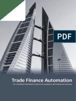 Banking Trade Finance Automation Flyer Newgen
