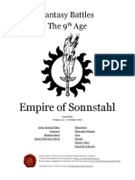 The Ninth Age Empire of Sonnstahl 1 2 1