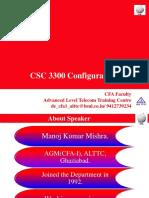 CSC 3300 Configuration 3