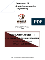 VLSI Backend Lab Manual
