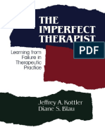 Imperfect Therapist Learning From f the - Jeffrey Kottler Diane Blau