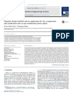 2016Dynamic Exergy Method and Its Application for CO2 Compressionand Purification Unit in Oxy-combustion Power Plants