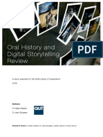 SLQ Oral History and DST Review