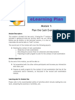 Learning Plan Module 1 Week 1