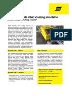 Product Leaflet - Portable CNC Cutting Machine