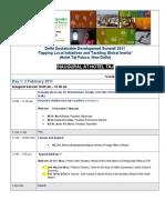 Agenda 21 Jan 2011
