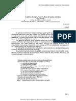 29 Etructura de Capital y Estructura de Varias Empresas