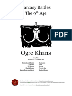 The Ninth Age Ogre Khans 1 2 1