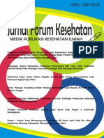 Jurnal Forum Kesehatan Volume VI Nomor 12, Agustus 2016