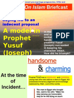 Saying NO - Prophet Yusuf (JOSEPH) Model