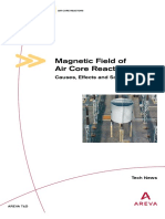 Alstom - Magnetic Field of Air-core Reactors-causes Effects and Solutions