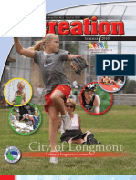 City of Longmont Colorado Summer Recreation Brochure 2010