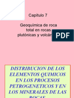 Capitulos 7 y 8 Geoquimica de Roca Total Mayores y Trazas