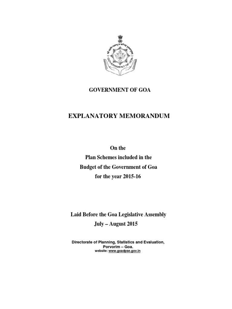 Explanatory Memorandum 2015-16 | Road Traffic Safety | Welfare