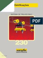 Carrinho Porta-Cabos Para Trilho Tipo C_Wampfler