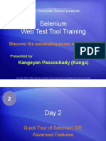 55155045 Selenium Tutorial Day 22 Quick Tour of Selenium IDE Advanced Features