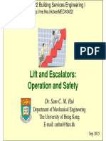 Lifts Escalators