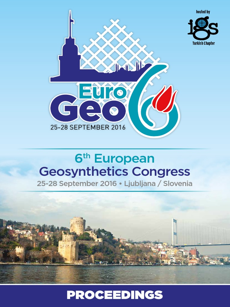 EuroGeo6 Proceeding | Geotechnical Engineering | Infrastructure