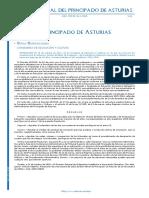 Convocatoria ESO Asturias
