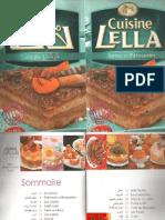 Tartes et pâtisseries cuisine lella (algerie).