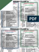 CYLCON 2016 Programa oficial.