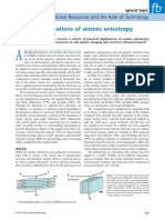 Practical Applications of Seismic Anisotropy
