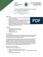 Información básica do Seminario Integración Didáctica das TIC. IES Rosalía de Castro de Santiago