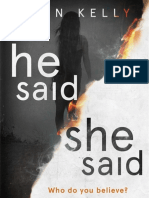 He Said/She Said by Erin Kelly - opening extract