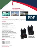 380K Portable TriGas Analyzer 2014