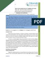 39. Agri Sci - IJASR- In Vitro Management of Fusarium Wilt of Gerbera