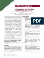 Cisplatin, Doxorubicin, And High-dose