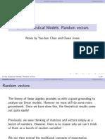2 Random Vectors