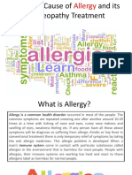 Cause of Allergy and Its Homeopathy Treatment
