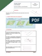 Axiomatização Da Geometria. Paralelismo e Perpendicularidade 9ºano