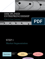 Disciplined Entreprenuership