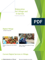 Digital Village and M-Services