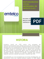 Rse en Emtelco s.a.s.