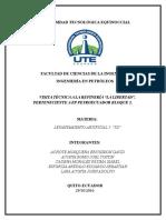Informe Gira Refineria Libertador