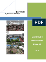 Manual de Convivencia Escolar 2016