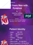 A 55 Years Man With Dyspnoea