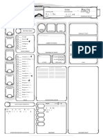 Kaliope Character Sheet