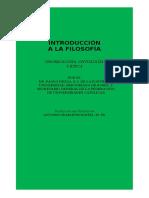 Introducción a La Filosofía, Paolo Dezza