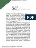 4a. Lukács - Bolshevism as a Moral Problem