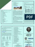 Brochure AMIAMS2K17