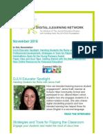 DJLN November 2016 Newsletter
