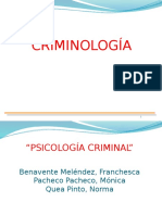CRIMINOLOGÍA FRANCHES