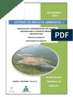 ESTUDIO DE IMPACTO AMBIENTAL SANITARIO PARA LA CIUDAD DE AREQUIPA