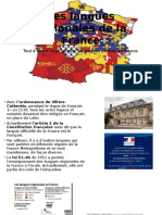 Les Langues Régionales de La France